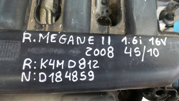 Motor RENAULT MEGANE II Coupé-Cabriolet (EM0/1_) | 03 - 10
