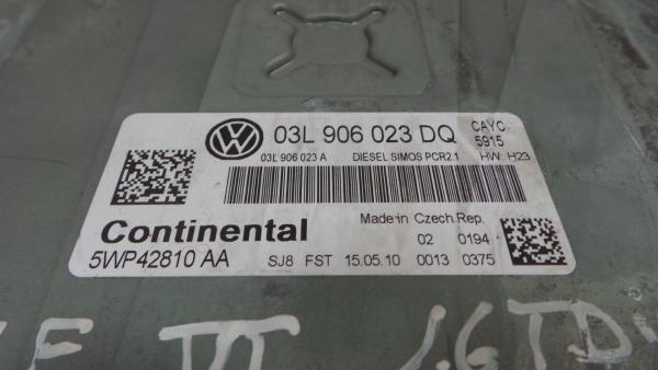 Centralina do Motor | ECU VOLKSWAGEN GOLF VI (5K1) | 08 - 14