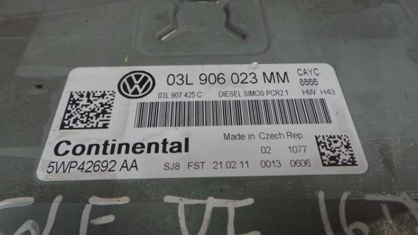 Centralina do Motor   ECU VOLKSWAGEN GOLF VI (5K1)   08 - 14