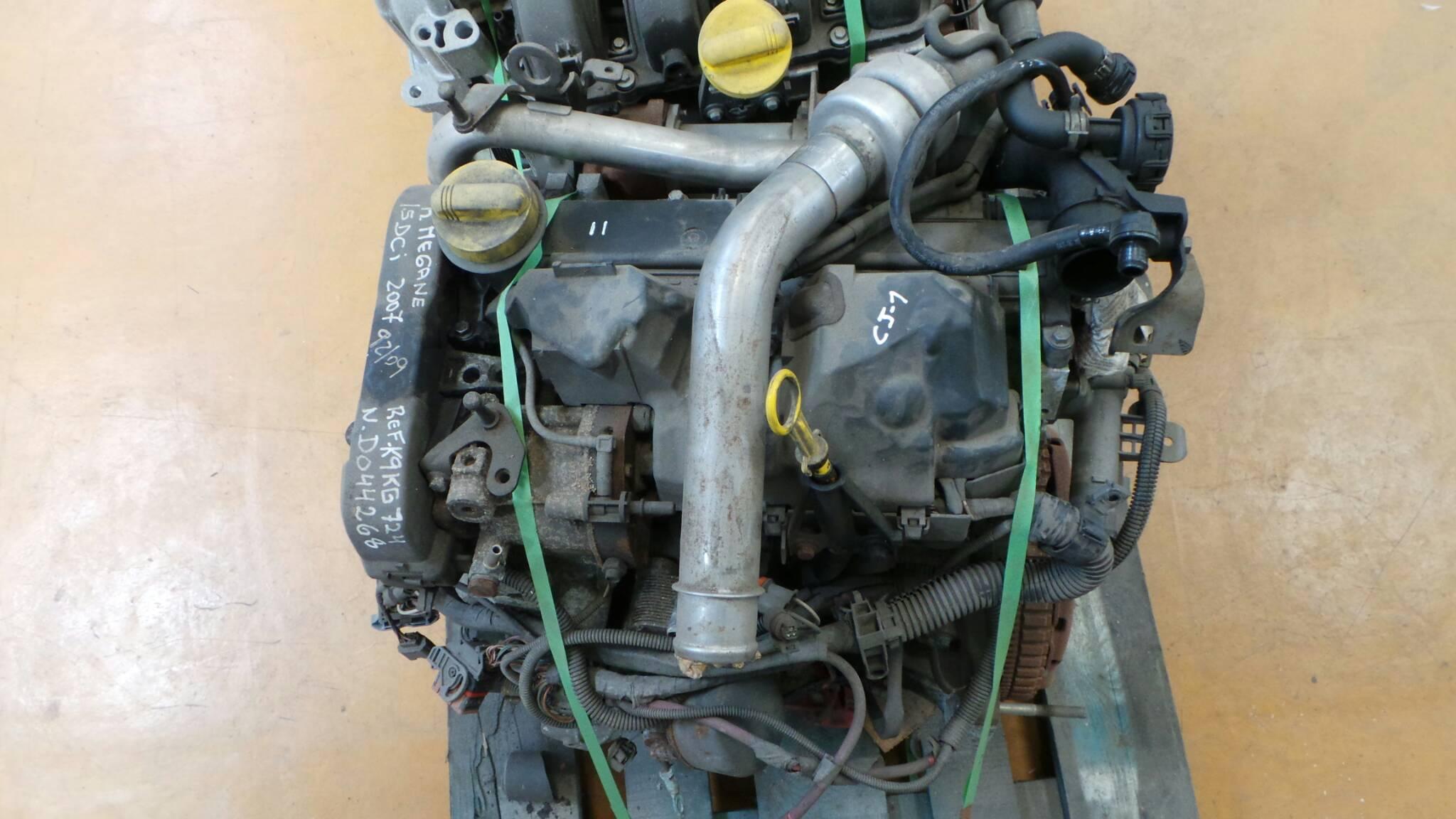 Motor RENAULT MEGANE II (BM0/1_, CM0/1_) | 01 - 12