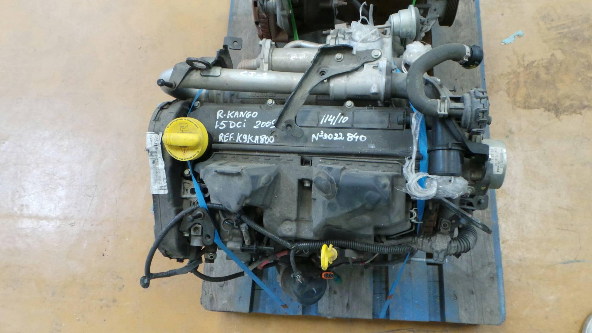 Motor RENAULT KANGOO / GRAND KANGOO (KW0/1_) | 08 -