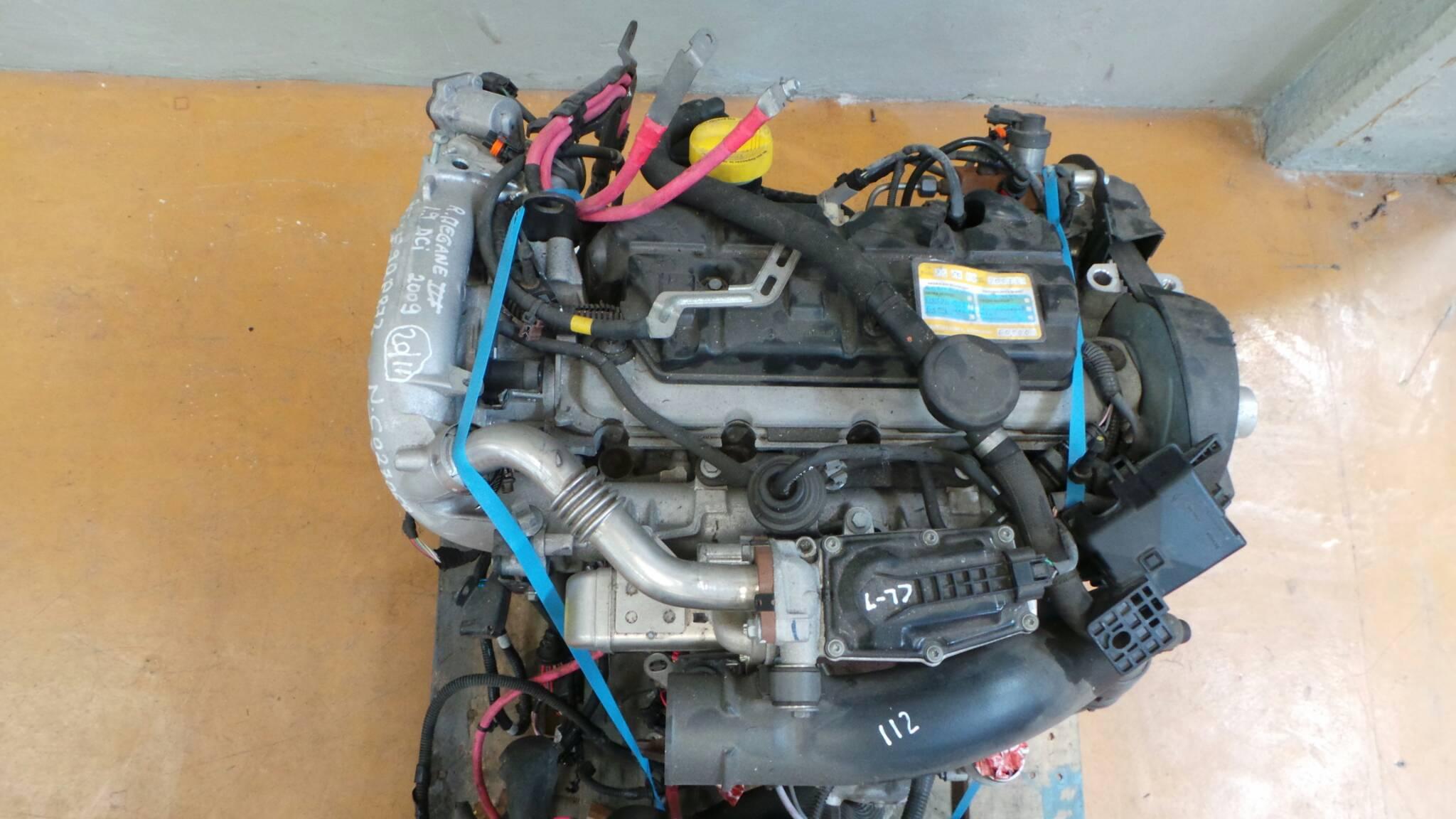 Motor RENAULT MEGANE III Hatchback (BZ0/1_) | 08 -
