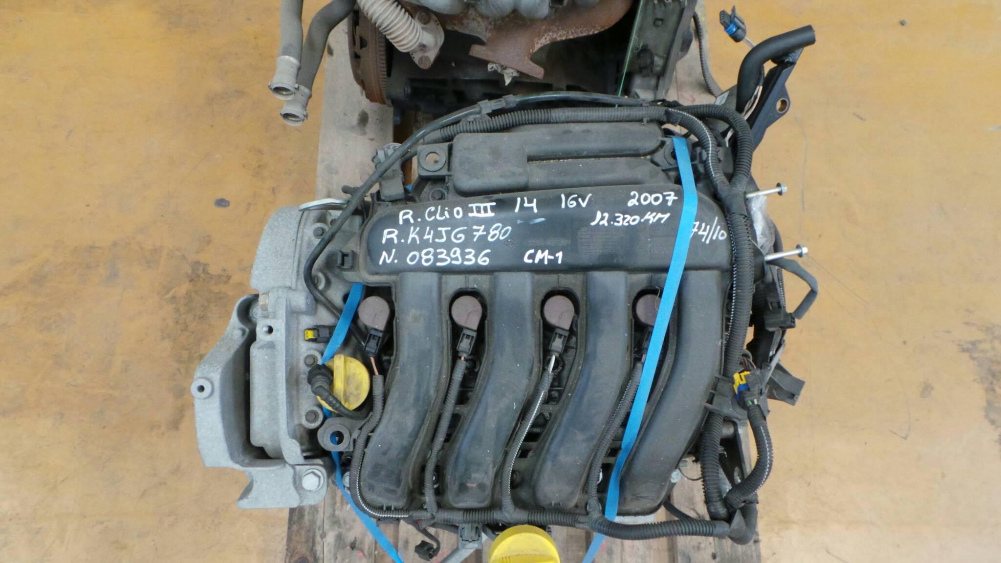 Motor RENAULT CLIO III (BR0/1, CR0/1) | 05 -