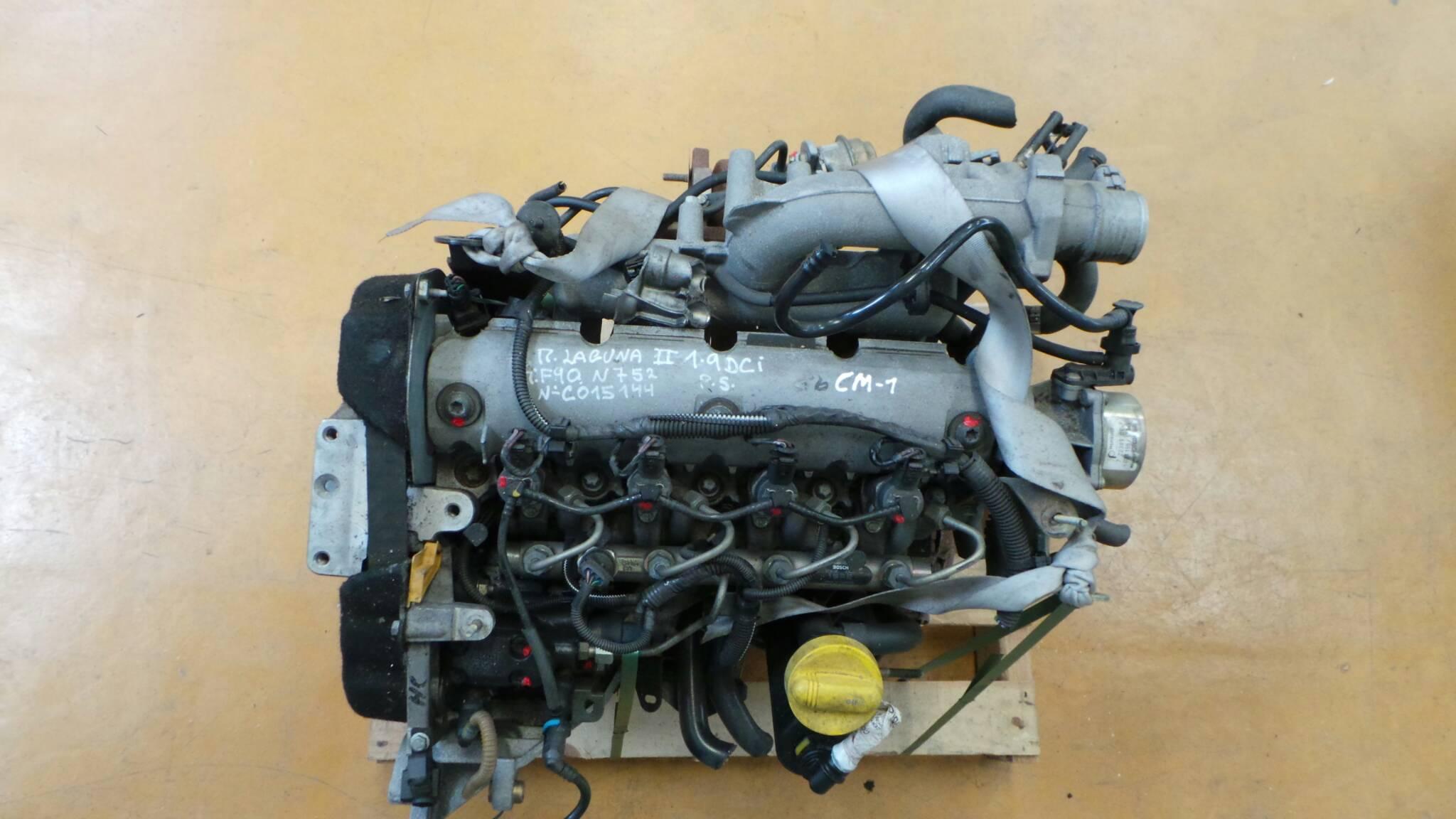 Motor RENAULT LAGUNA II (BG0/1_) | 01 - 07