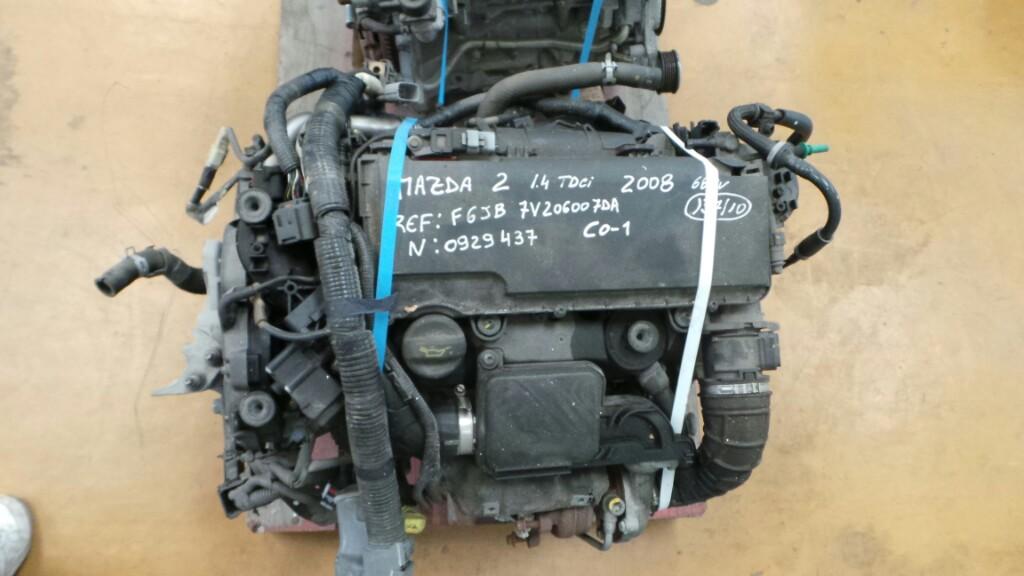 Motor MAZDA 2 (DE_, DH_) | 07 - 15