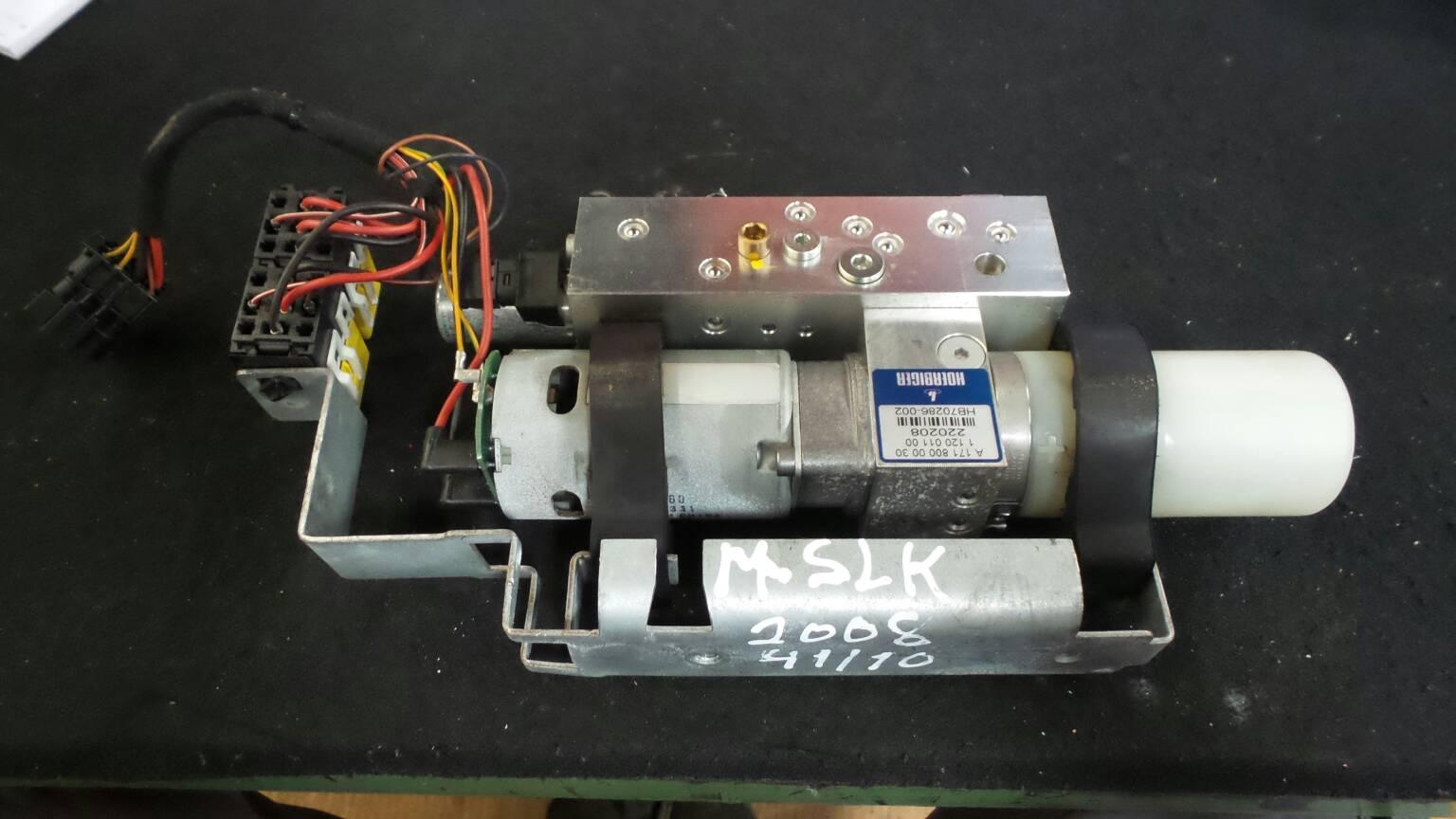Tecto de Abrir Electrico MERCEDES-BENZ SLK (R171) | 04 - 11