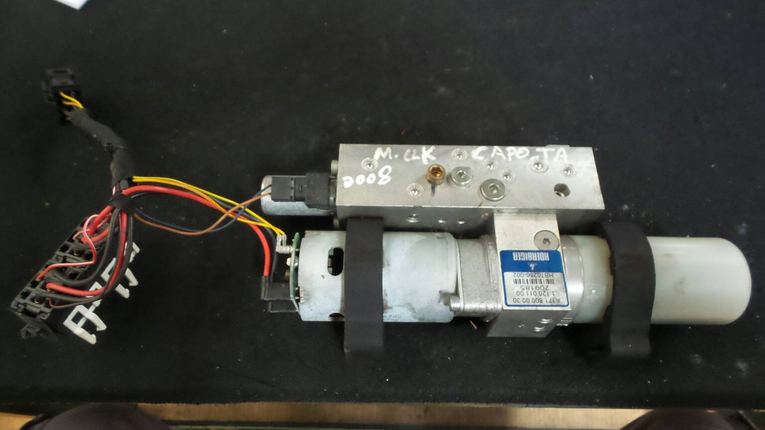 Tecto de Abrir Electrico MERCEDES-BENZ CLK Cabriolet (A209) | 02 - 10