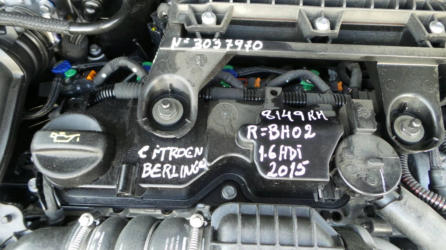 Motor CITROEN BERLINGO (B9)   08 -