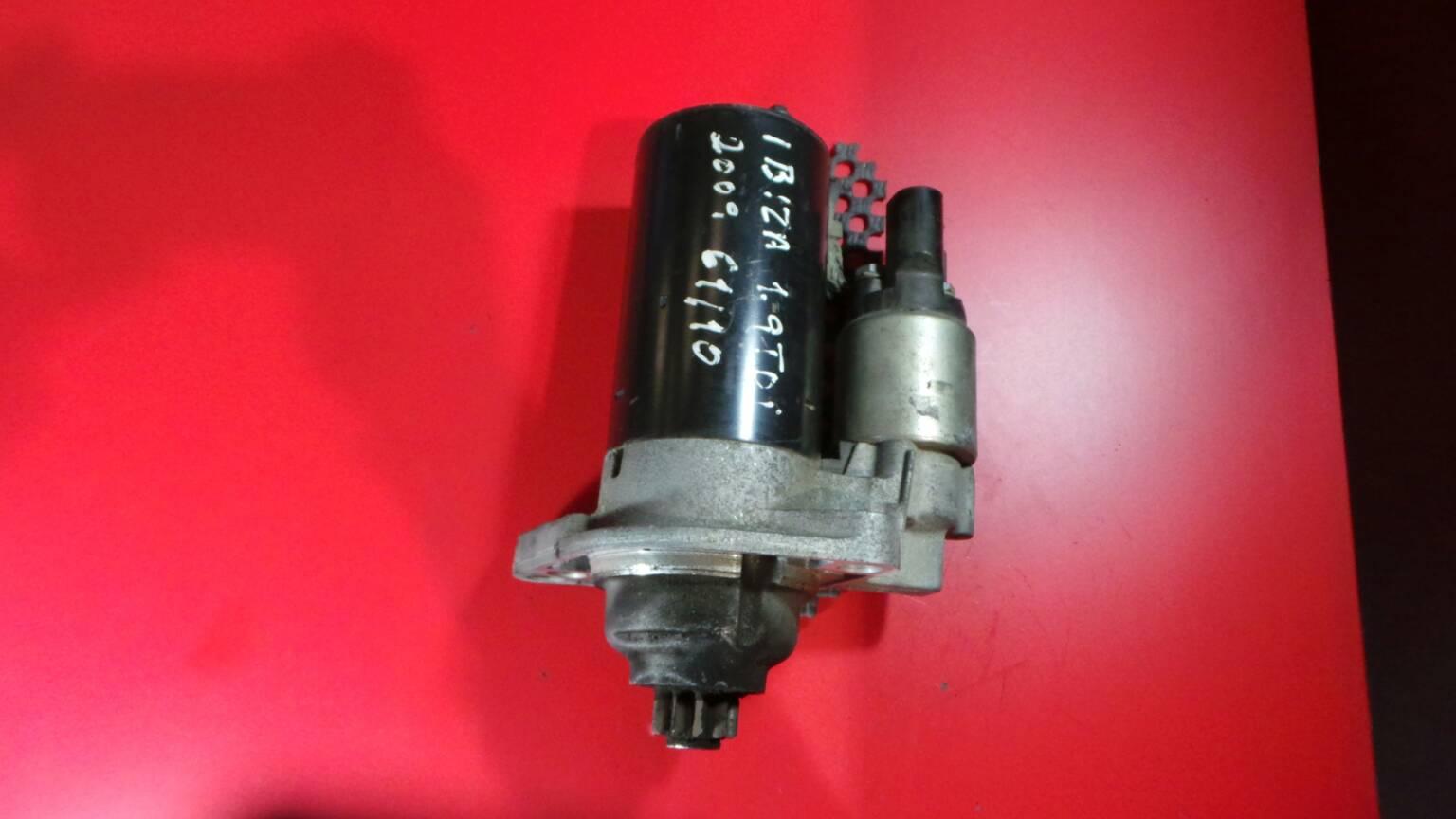 Motor de Arranque SEAT IBIZA IV (6J5, 6P1) | 08 - 17