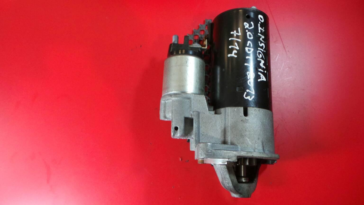 Motor de Arranque OPEL INSIGNIA A (G09) | 08 - 17