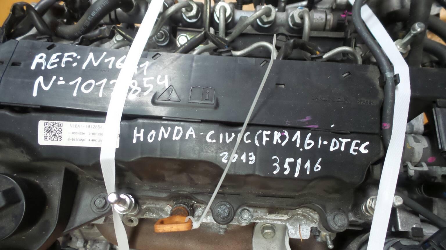 Motor HONDA CIVIC IX (FK) | 12 -