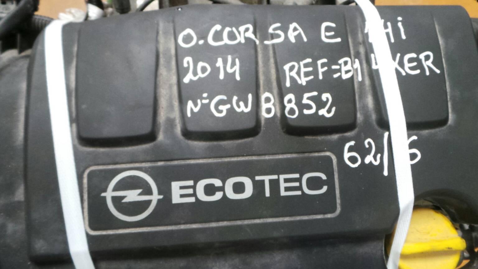 Motor OPEL CORSA E (X15)   14 -