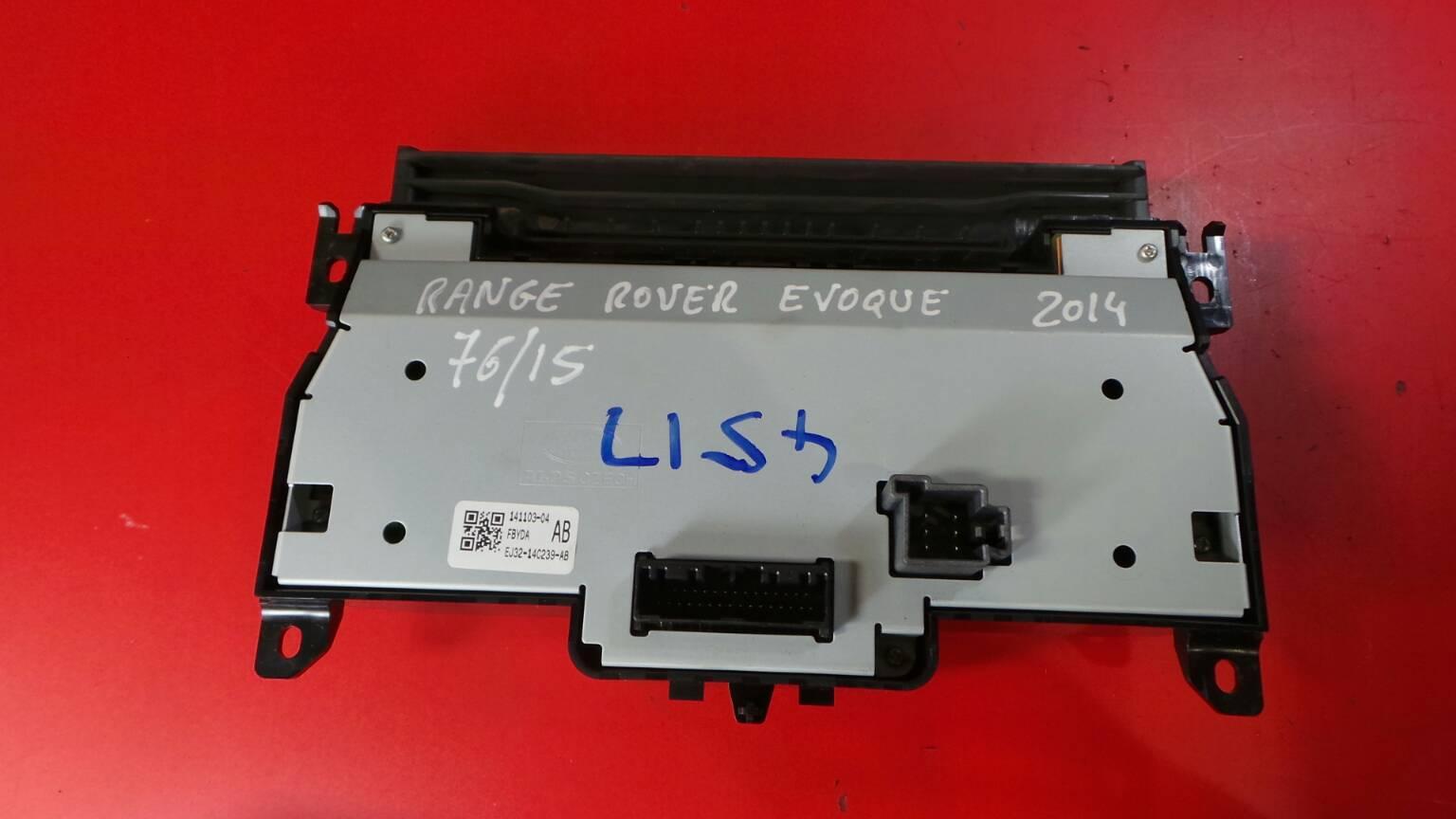 Comando Sofagem / Climatronic LAND ROVER RANGE ROVER EVOQUE (L538)   11 -