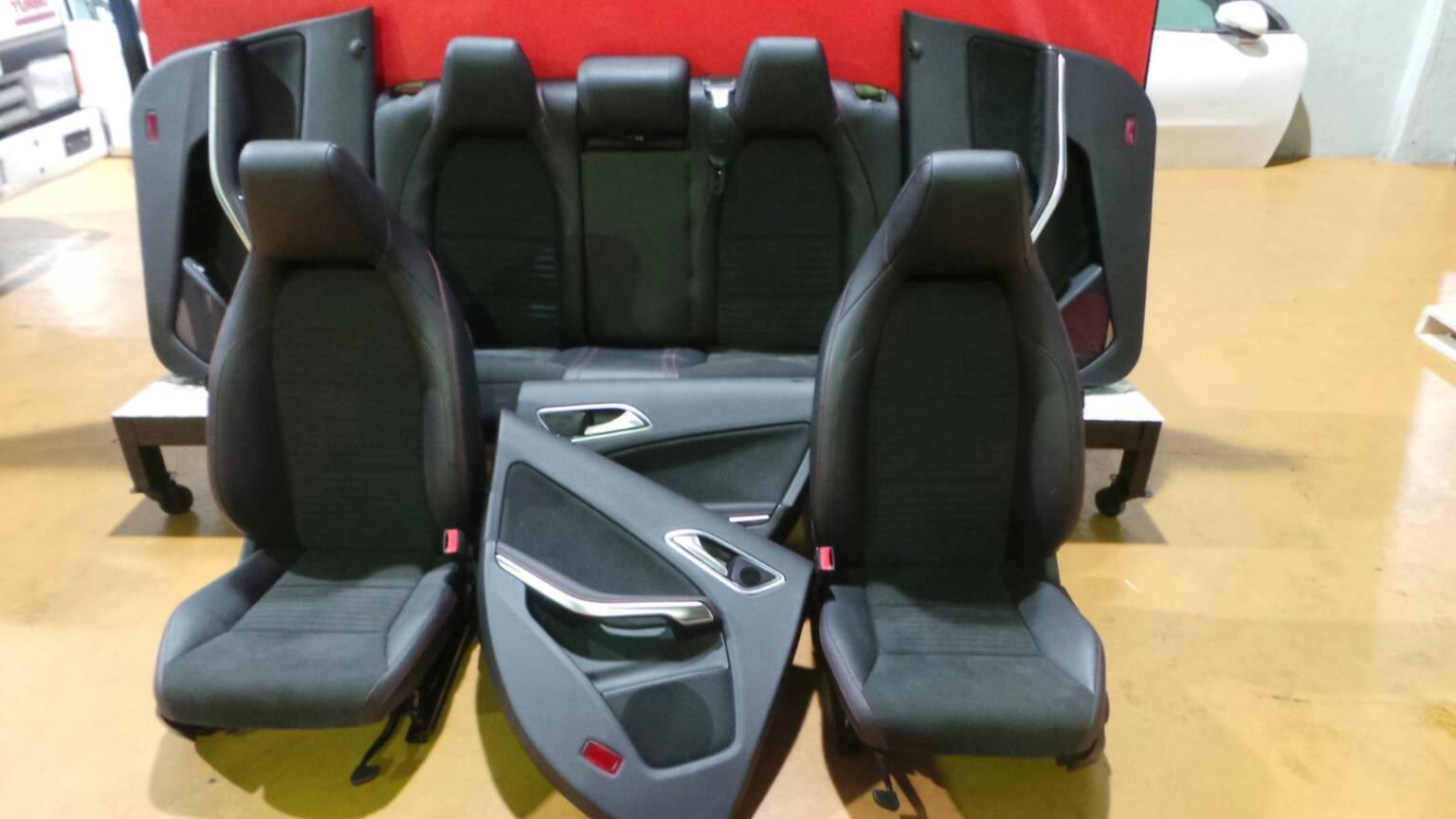 Conjunto de bancos / Sem Airbags MERCEDES-BENZ CLA Coupé (C117) | 13 - 19