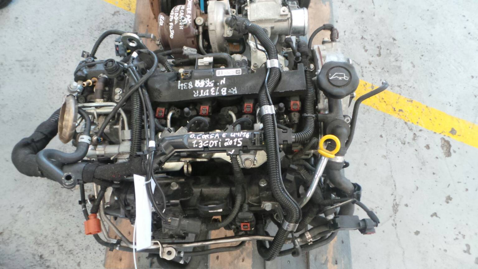 Motor OPEL CORSA E (X15) | 14 -