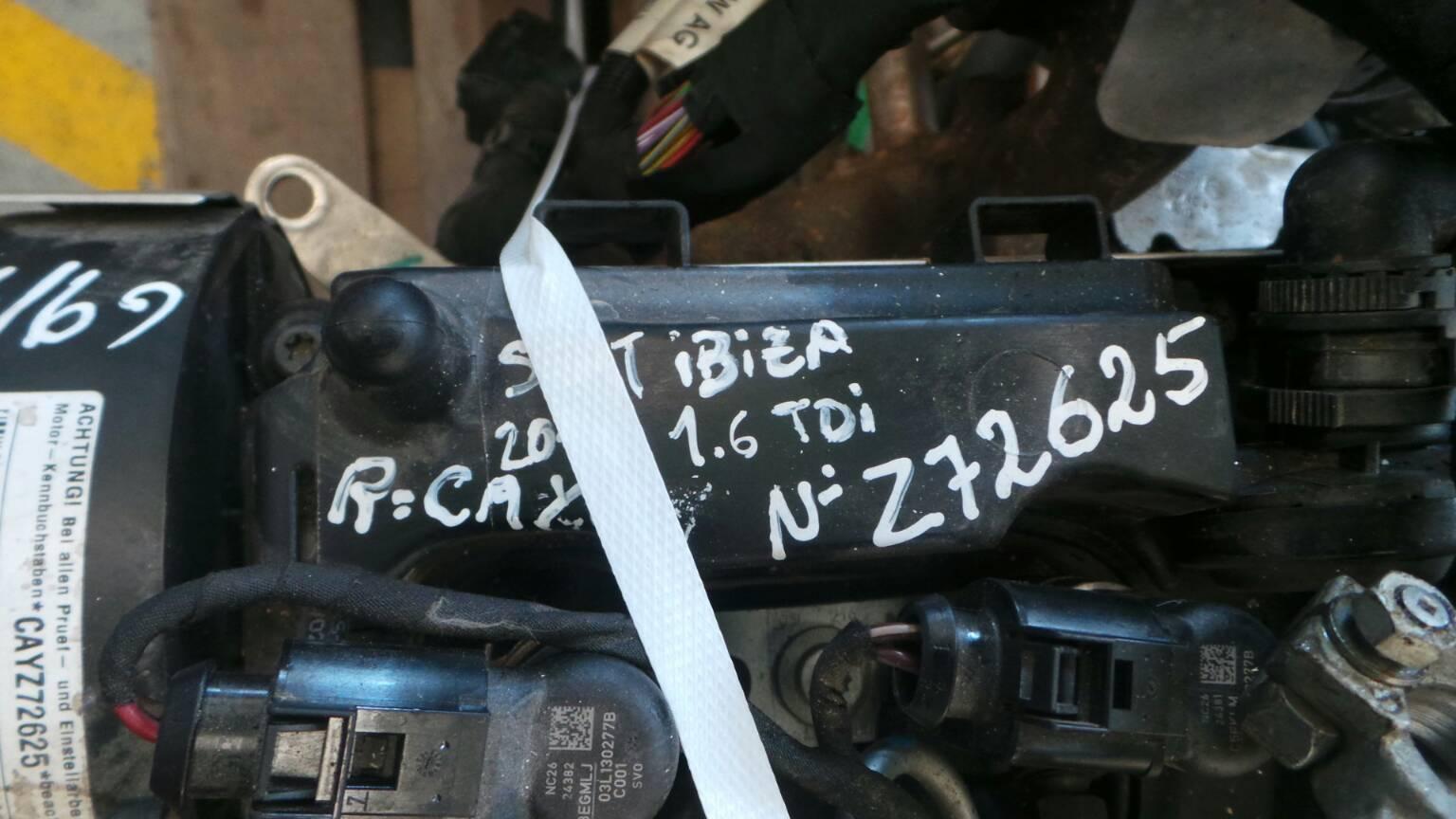 Motor SEAT IBIZA IV (6J5, 6P1)   08 - 17