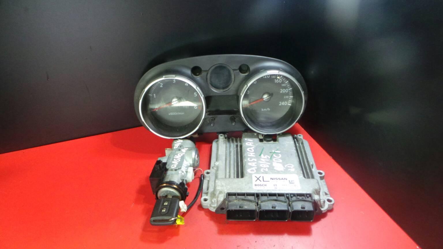 Centralina do Motor | ECU NISSAN QASHQAI / QASHQAI +2 I (J10, NJ10, JJ10E) | 06 - 14