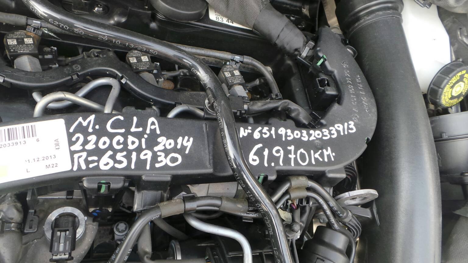 Motor MERCEDES-BENZ CLA Coupé (C117) | 13 - 19