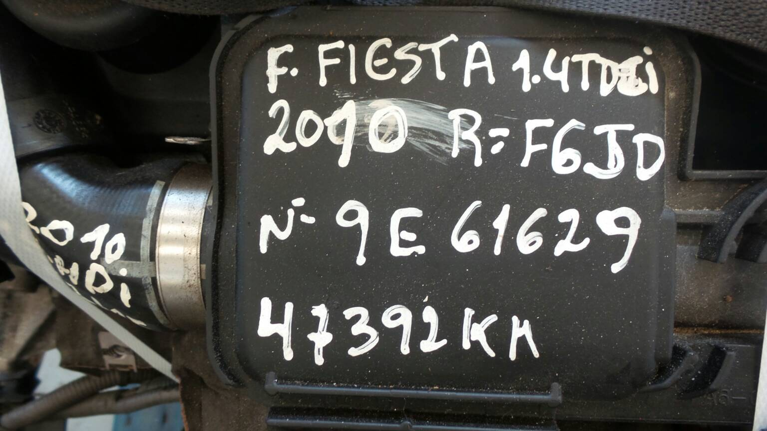 Motor FORD FIESTA VI (CB1, CCN)   08 -
