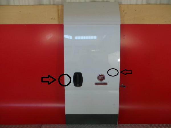 Porta Tras Direita FIAT DUCATO Caixa (250_, 290_) | 06 -