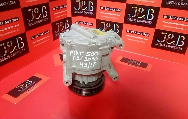 Compressor do Ar Condicionado FIAT 500 (312_) | 07 -