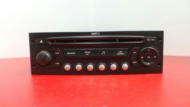 Auto-rádio (CD) PEUGEOT PARTNER Tepee   08 -