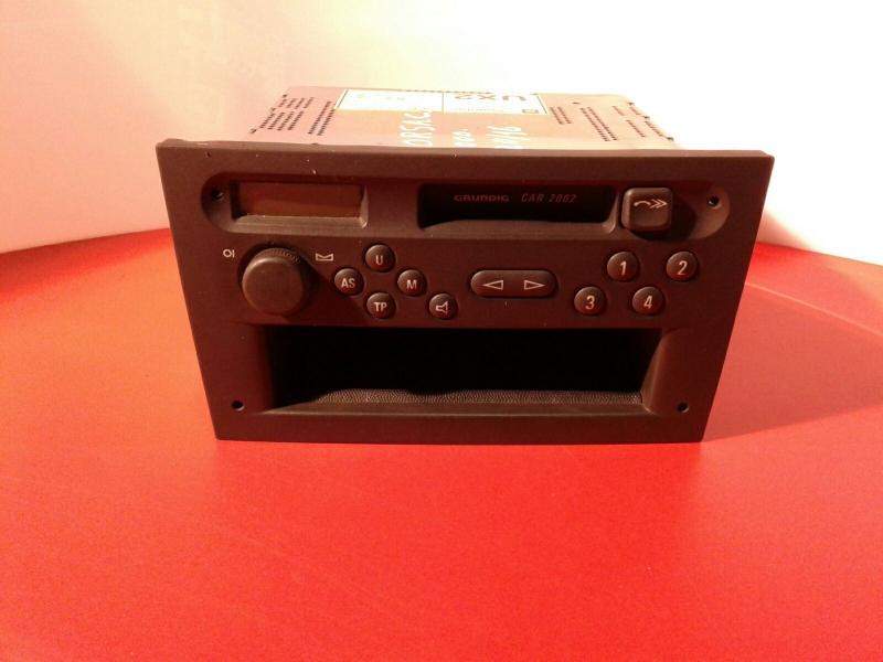 Auto-rádio OPEL CORSA C Caixa (X01) | 00 - 12