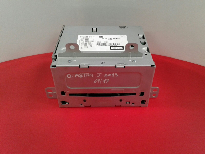 Auto-rádio (CD) OPEL ASTRA J (P10) | 09 - 15