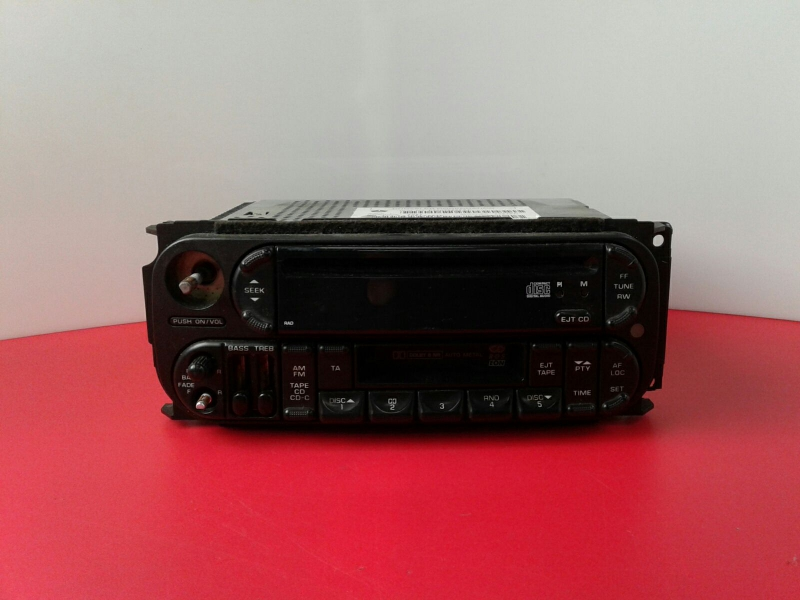Auto-rádio (CD) CHRYSLER VOYAGER III (RG, RS) | 99 - 08