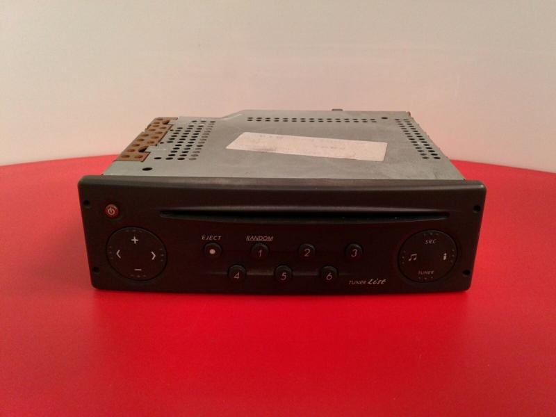 Auto-rádio (CD) RENAULT LAGUNA II (BG0/1_) | 01 - 07