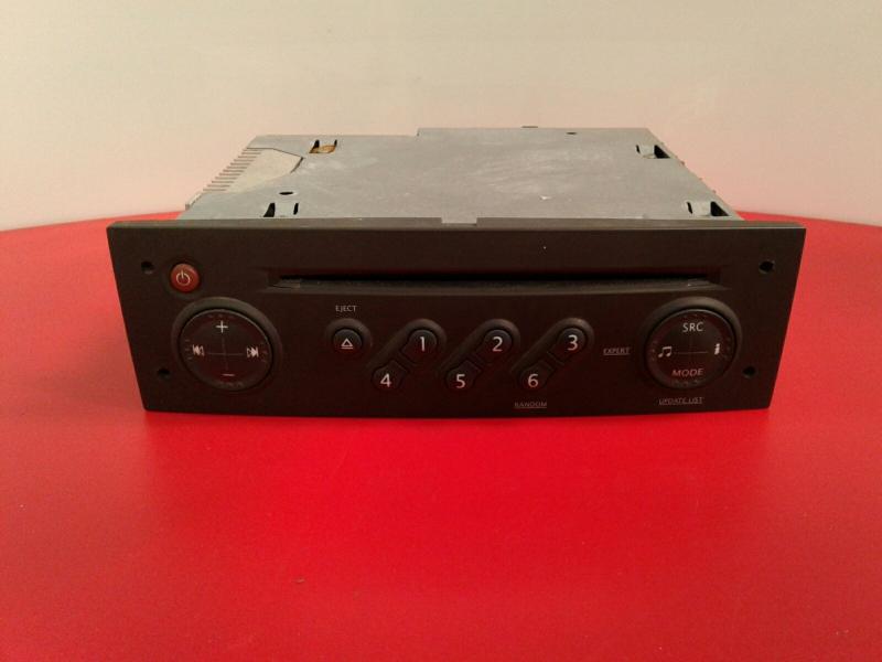 Auto-rádio (CD) RENAULT CLIO III (BR0/1, CR0/1) | 05 -