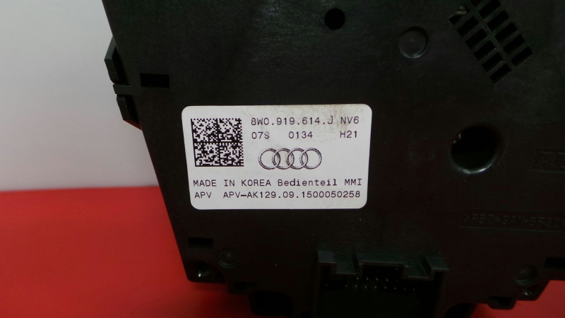 Painel de Controle do Radio AUDI A4 (8W2, 8WC, B9)   15 -