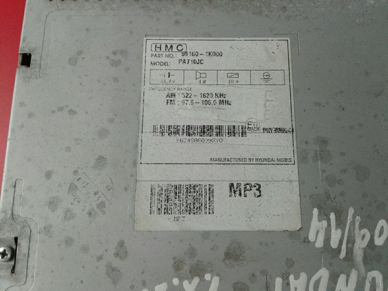 Auto-rádio (CD) HYUNDAI ix20 (JC)   10 -