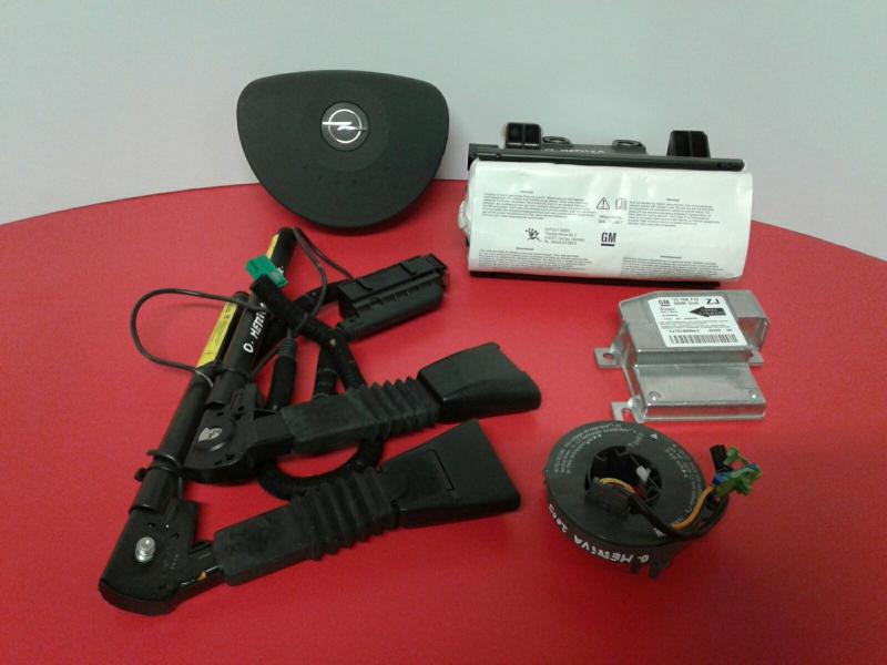 Conjunto / Kit de Airbags OPEL MERIVA A Veículo multiuso (X03) | 03 - 10