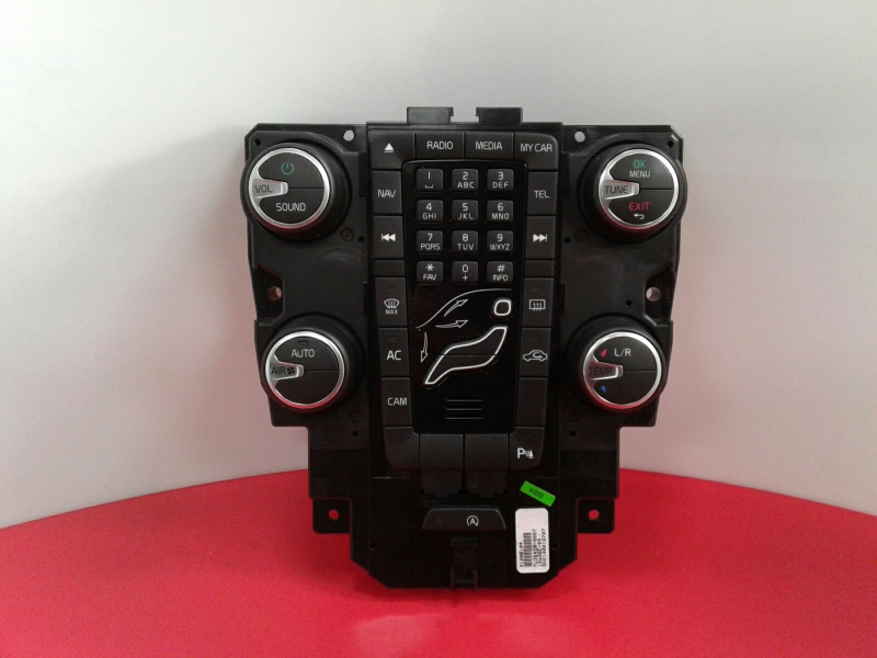 Painel de Controle do Radio VOLVO V40 Hatchback (525, 526) | 12 -