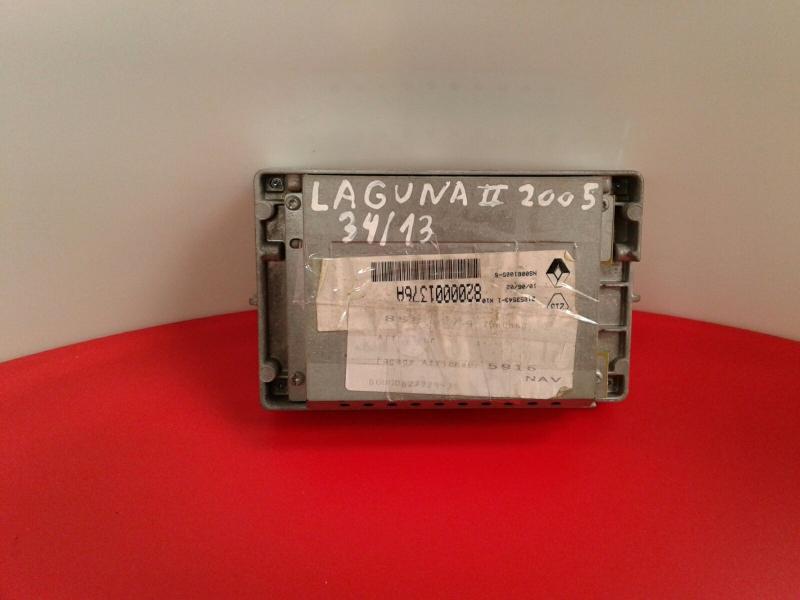 Display do Radio RENAULT LAGUNA II (BG0/1_) | 01 - 07