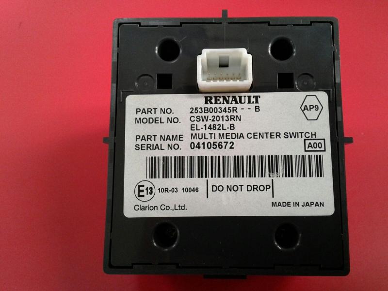 Controle de Navegacao RENAULT SCÉNIC III (JZ0/1_)   08 -
