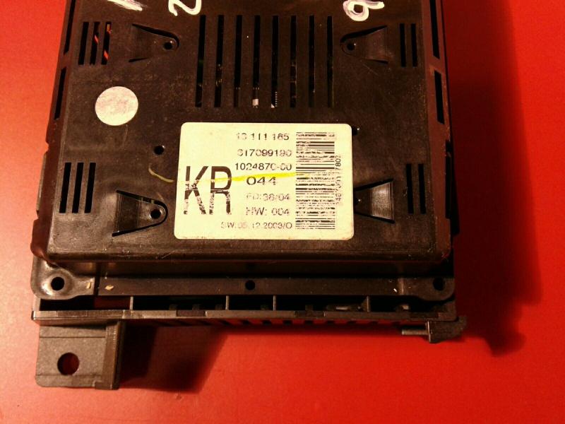 Display do Radio OPEL ASTRA H (A04) | 04 - 14