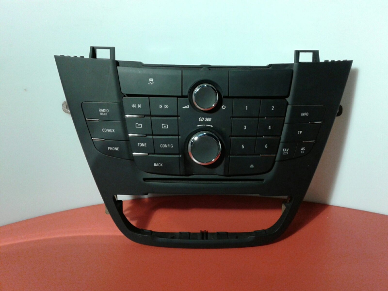 Painel de Controle do Radio OPEL INSIGNIA A (G09) | 08 - 17