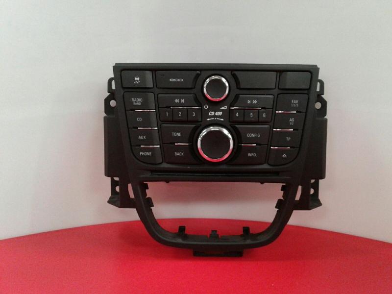 Painel de Controle do Radio OPEL ASTRA J (P10)   09 - 15