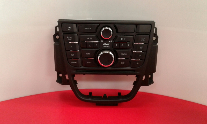 Painel de Controle do Radio OPEL ASTRA J GTC | 11 -