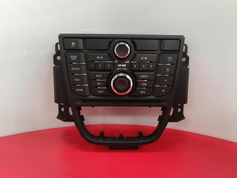 Painel de Controle do Radio OPEL ASTRA J (P10) | 09 - 15