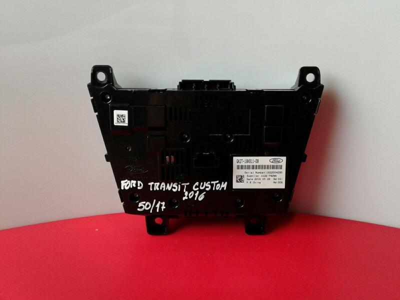 Painel de Controle do Radio FORD TRANSIT CUSTOM V362 Caixa (FY, FZ)   12 -