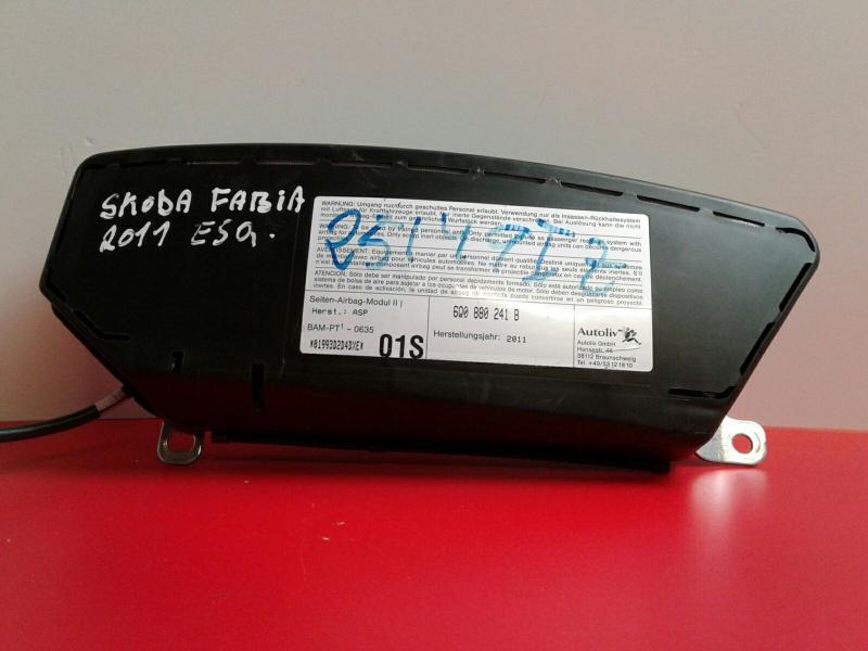 Airbag Banco Frente Esquerdo SKODA FABIA II (542)   06 - 14
