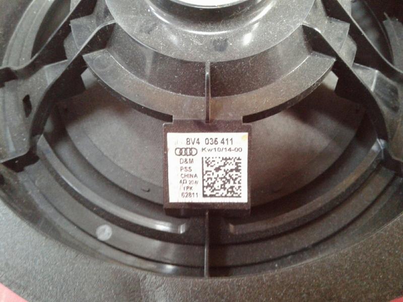 Coluna de Som AUDI A3 (8V1, 8VK) | 12 -