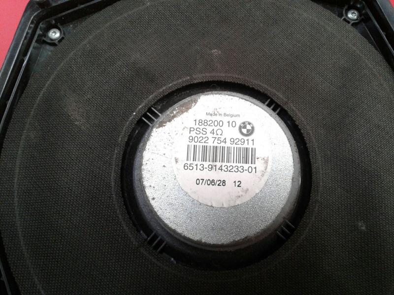 Coluna de Som BMW 3 Coupé (E92) | 05 - 13