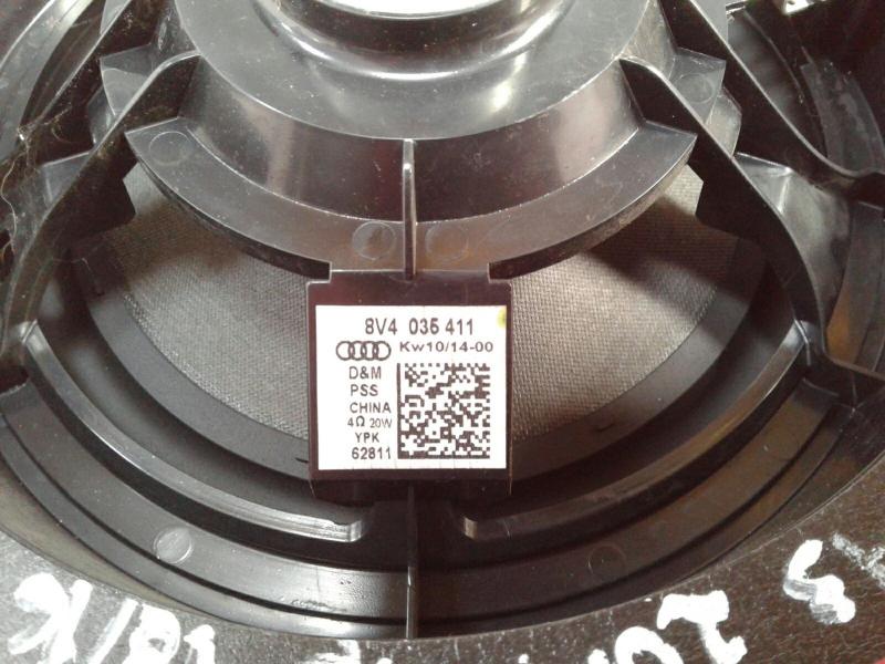 Coluna de Som AUDI A3 (8V1, 8VK)   12 -