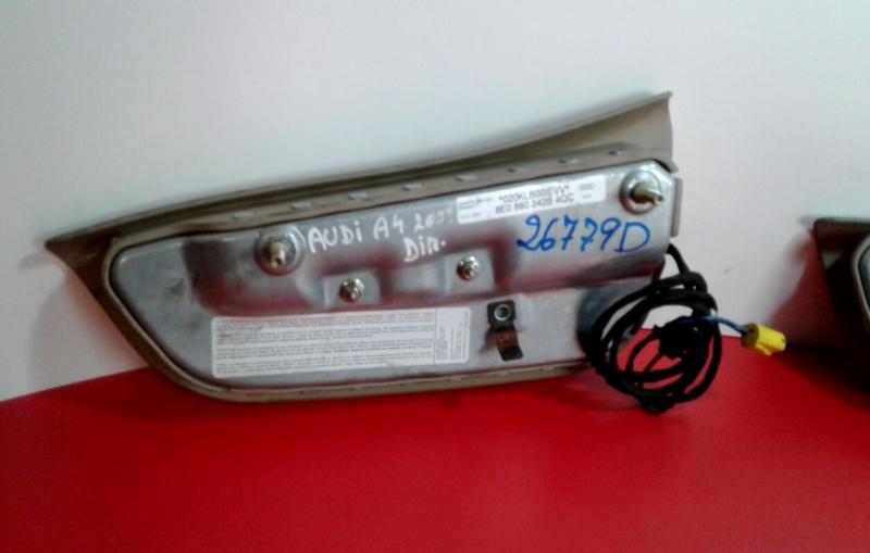 Airbag Banco Frente Direito AUDI A4 (8E2, B6)   00 - 05