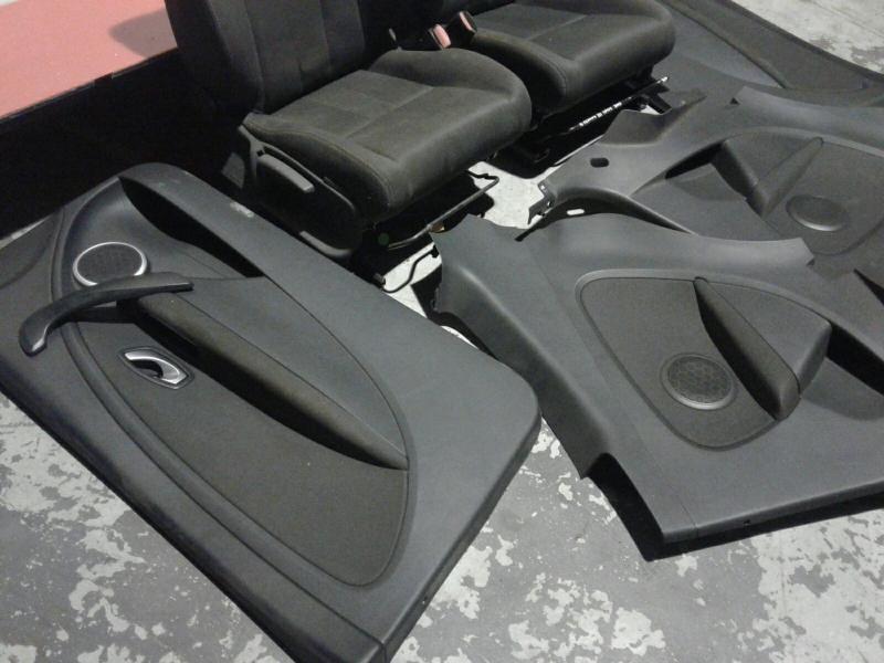 Conjunto de bancos / Sem Airbags RENAULT MEGANE III Coupé (DZ0/1_) | 08 -