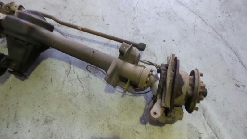 Eixo Dianteiro LAND ROVER DEFENDER Cabrio (L316) | 90 - 16